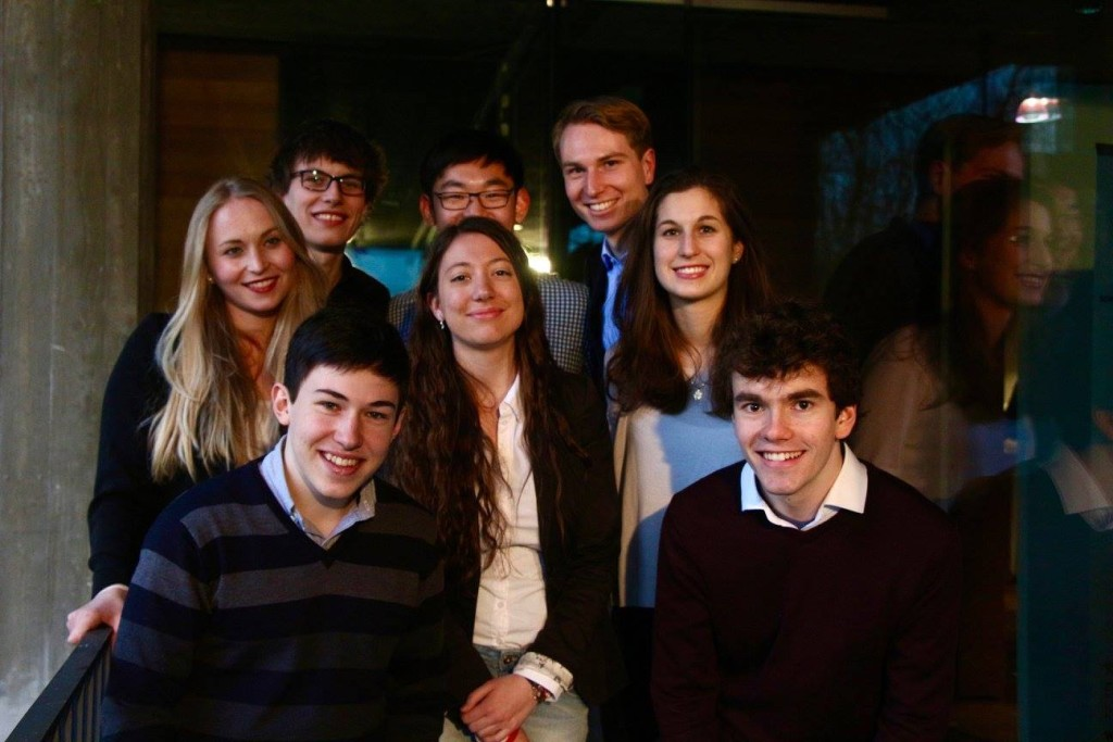 The newly elected Board of EYP Switzerland